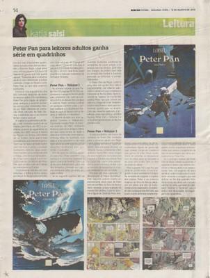 Peter Pan para leitores adultos ganha série em quadrinhos