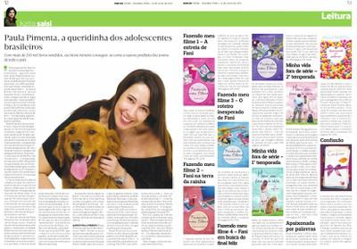 Paula Pimenta, a queridinha dos adolescentes brasileiros