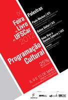 Começa na próxima terça-feira a IX Feira do Livro da Universidade Federal de São Carlos