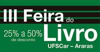 UFSCar realiza III Feira do Livro em Araras