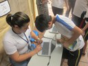 Exposição escolar promove exercício da cidadania