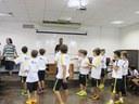 Escola cria espaço de convívio no período extraescolar