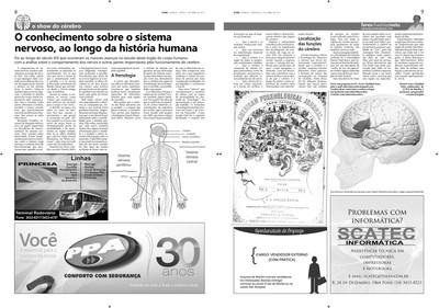 Coluna O Show do Cérebro no jornal O Dia - 07/04/2015