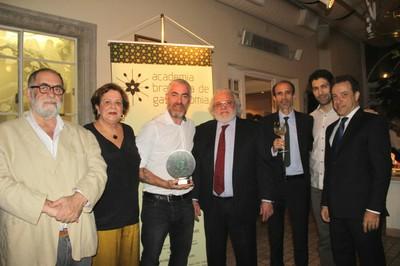 Premiação Academia Brasileira de Gastronomia