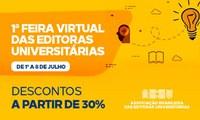 Editora Unesp participa da 1ª Feira Virtual das Editoras Universitárias