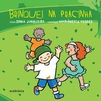 Livro para crianças bem pequenas recria um dia de brincadeiras na pracinha