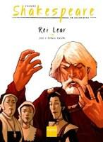 Rei Lear completa a Coleção Shakespeare em Quadrinhos da Editora Nemo