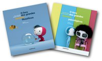 Premiada coleção de filosofia para pré-adolescentes ganha títulos sobre grandes opostos filosóficos e psicológicos