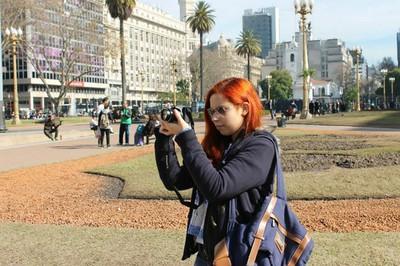 Participante do Jornalismo Sem Fronteira em Buenos Aires 3