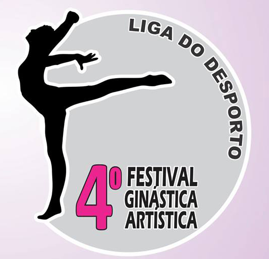 Logo 4o Festival de Ginástica Artística