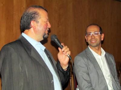 Reitor FIG e Jean Gaspar
