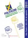 Politicom recebe trabalhos para o X Congresso Brasileiro de Marketing Político