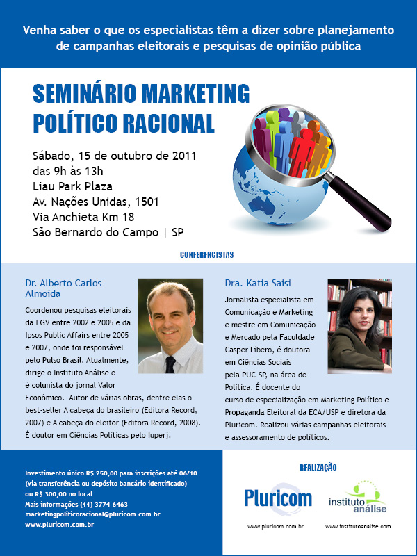 Seminário Marketing Político Racional