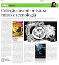 Coleção juvenil mistura mitos e tecnologia