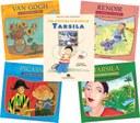 Coleção infantil sobre artistas plásticos celebra Dia Nacional das Artes