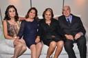 Cibele Mendes Curto Santos (diretora editorial), Maria Lucia K. Cavalcante de Queiroz (Diretora Executiva), professor Ricardo Feltre e esposa
