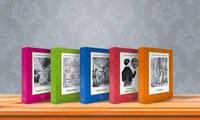 Clássicos da Literatura Unesp ganha mais cinco títulos