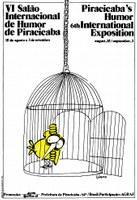 Exposição registra a história dos 37 anos do Salão Internacional de Humor de Piracicaba